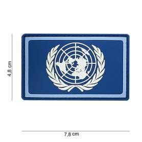 Patch 3D PVC Drapeau ONU