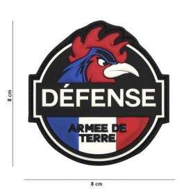 Patch 3D PVC Défense Armée de Terre