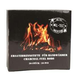 Sticks de Combustibles pour Chauffe-mains x20 Mil-Tec