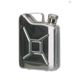 Flasque Inox type Jerrycan 170ml Mil-Tec