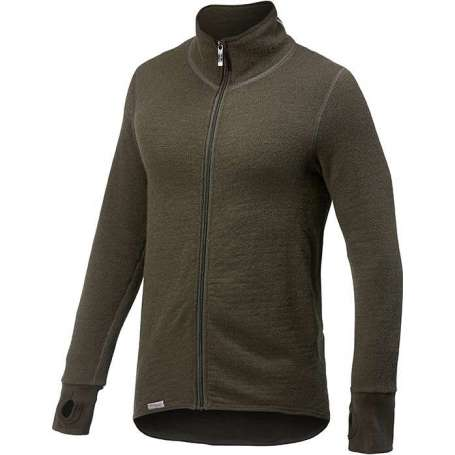 Ulfrotté Full Zip Jacket 400 Vert Pin Woolpower