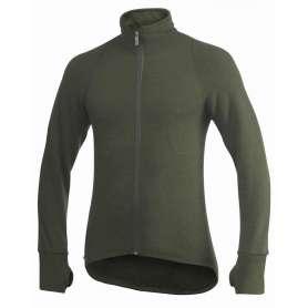 Ulfrotté Full Zip Jacket 600 Vert Woolpower