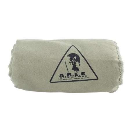 Serviette Microfibre 100 x 50cm Kaki Ares
