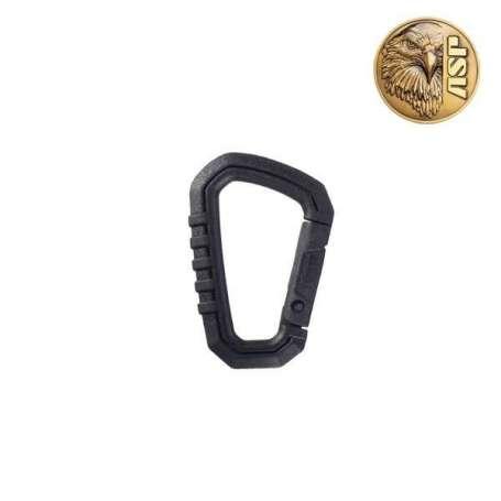 Mousqueton Mini Carabiner Noir ASP