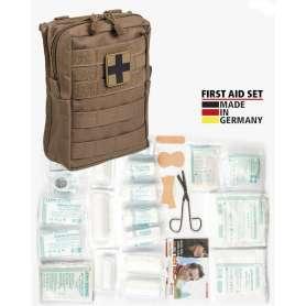 First Aid Kit LEINA 43pcs Dark Coyote