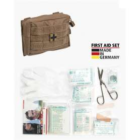 First Aid Kit LEINA 25pcs Dark Coyote