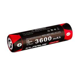 Batterie Rechargeable 18650 3.6V 3600mAh 18GT-36 Klarus