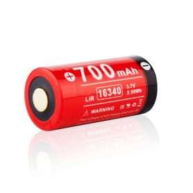 Batterie Rechargeable 16340 3,7V 700mAh Klarus