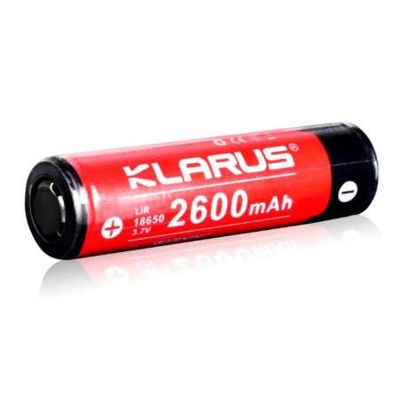 Batterie Rechargeable 18650 3,7V 2600mAh Klarus