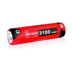 Batterie Rechargeable IMR 18650 3,6V 3100mAh Klarus