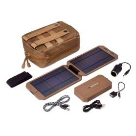 Kit Chargeur Solaire Tactical Extreme PowerTraveller