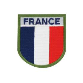 Écusson Soie France Tricolore sans velcro DMB Products