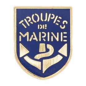 Pin's Troupes de Marine Blason