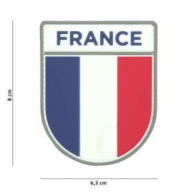 Patch 3D PVC French Army Haute Visibilité