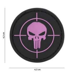 Patch 3D PVC Punisher Sight Rose