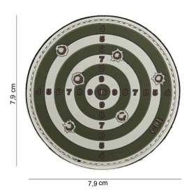 Patch 3D PVC Target Vert