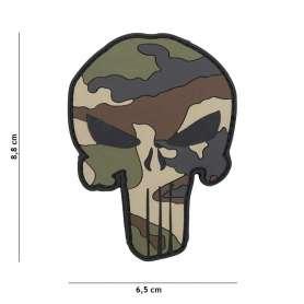 Patch 3D PVC Punisher Cam CE