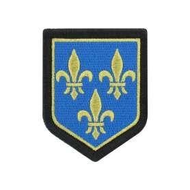 Écusson de Région Île de France Brodé