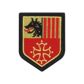 Écusson de Région Languedoc-Roussillon Brodé