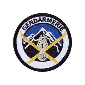 Écusson de Spécialité Gendarmerie Haute Montagne Brodé