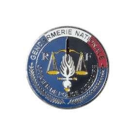 Médaille Gendarmerie OPJ pour porte-carte