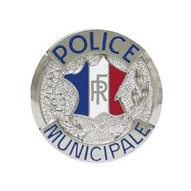 Médaille Police Municipale pour porte-carte Patrol Equipement