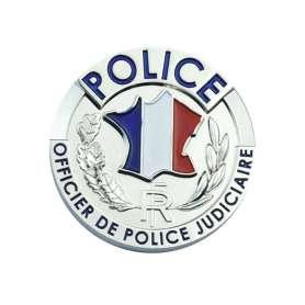 Médaille Police OPJ pour porte-carte Patrol Equipement