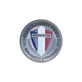 Médaille Agent Sécurité Privée pour porte-carte Patrol Equipement