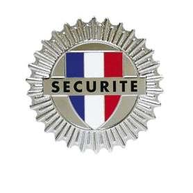 Médaille Sécurité pour porte-carte Patrol Equipement