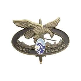 Insigne Brevet Combat en Montagne CIECM Bronze