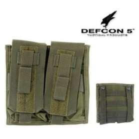 Porte-Chargeur Double M4/AK Vert OD Defcon 5 (non contractuelle)
