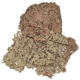 Filet de Camouflage Britannique 4 x 4m Désert État Neuf (non contractuelle)