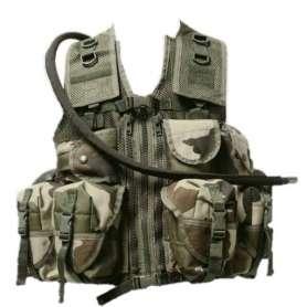 Gilet Militaire d'Assaut Cam CE (non contractuelle)
