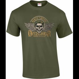 T-Shirt Dishonor Army Design (photo non contractuelle)
