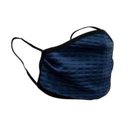 Masque Barrière Lavable Bleu Summit Outdoor