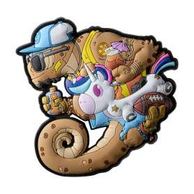 Moral Patch Chameleon Summer OPS (non contractuelle)