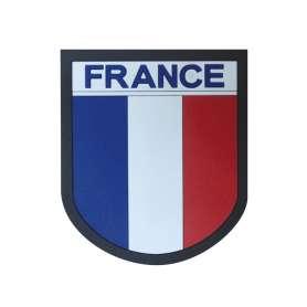 Patch PVC France haute visibilité