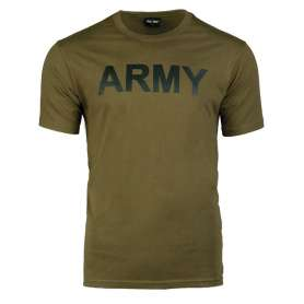 T-Shirt ARMY Vert OD Face (non contractuelle)