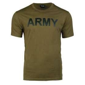 T-Shirt ARMY Vert OD Face (non contractuelle)