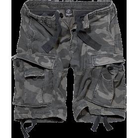 Brandit Vintage Classic Shorts Dark Camo (couleur non contractuelle)