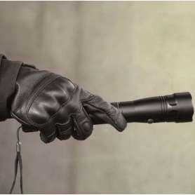 Gants Tactical Mil-Tec Cuir Noir
