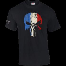 T-Shirt Punisher Noir Army Design