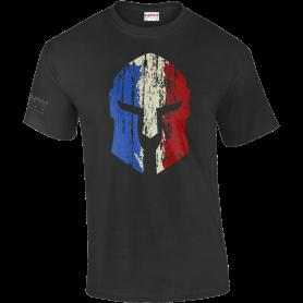 T-Shirt Spartan Noir Army Design