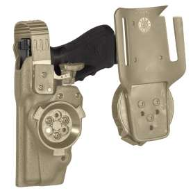 Système de connexion rotatif 8K33 Tan Vega Holster
