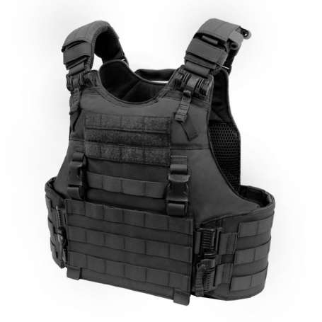 Quad Release Plate Carrier Noir Warrior Assault Systems EO-QRC-BK