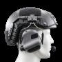 Adaptateur de rail pour casque FAST / ARCH Earmor (rail, casque balistique et casque électronique non fournis)