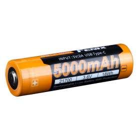 Batterie Rechargeable 21700 3.6V 5000mAh USB-C