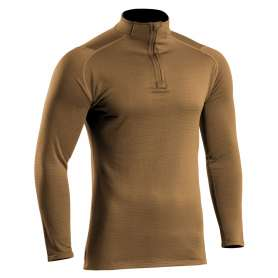 Sweat Zippé Thermo Performer Niveau 3 Coyote T.O.E.®
