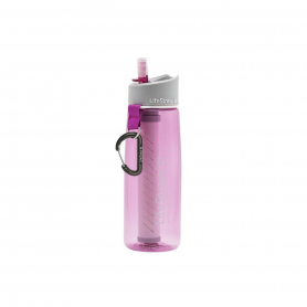 Gourde LifeStraw 2 Go Rose