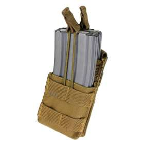 Single Stacker M4 Mag Pouch Coyote Brown Condor MA42-498